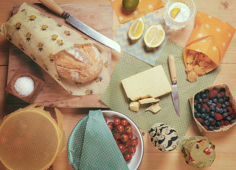Beeswax wraps (The Beeswax Wrap Co.)