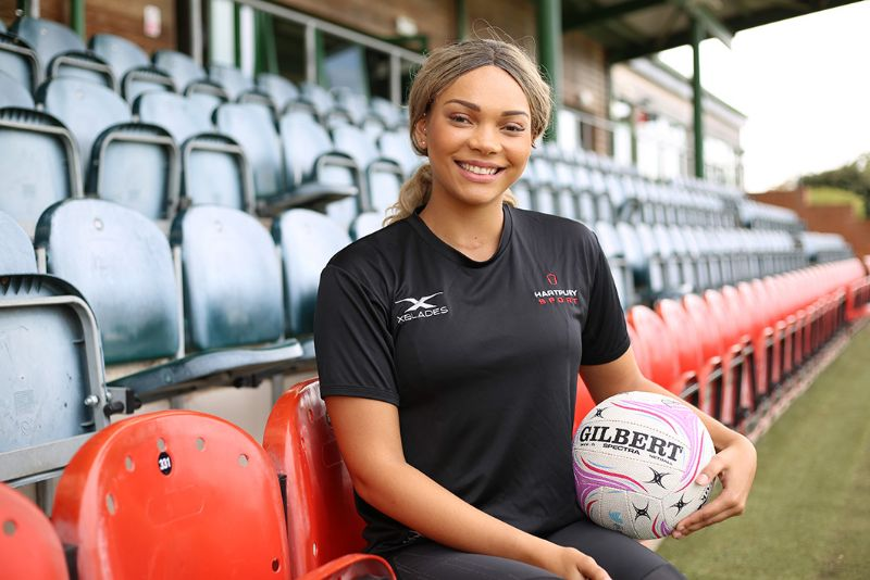 England netball star Paige Reed wins leading role at ...