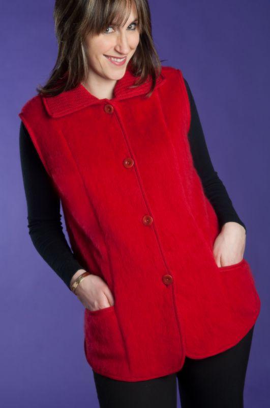 Pyrenean 100% Wool Val d'Arizes Ladies Waistcoat