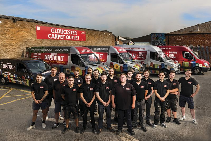 The Gloucester Carpet Outlet team