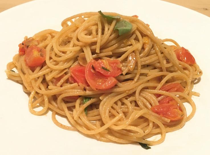 Tomato Aglio olio e pepperoncino