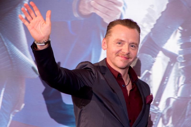 Simon Pegg has starred in classic comedies 'Hot Fuzz' and 'Shaun of the Dead', as well as the 'Mission Impossible' and 'Star Trek' franchises