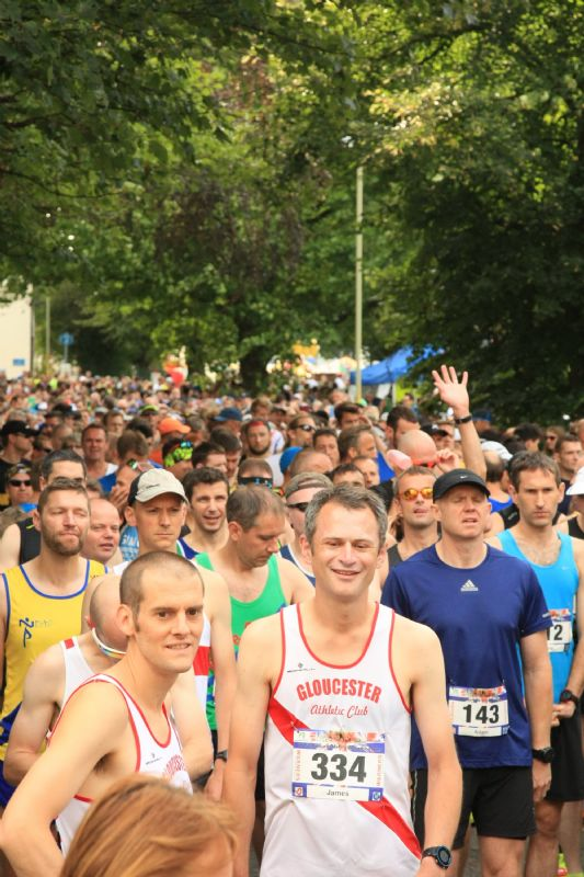 Last year's Gloucester Marathon attracted almost 1,000 runners