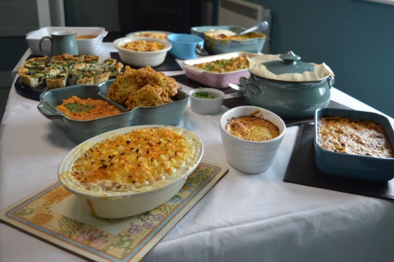 The scrumptious selection of dishes we had the pleasure of tasting at The Local Answer