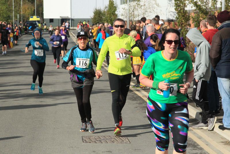 The City of Gloucester 10K get under way at 10am on Sunday