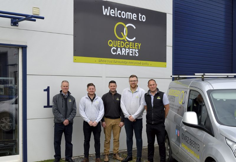 The team at Quedgeley Carpets