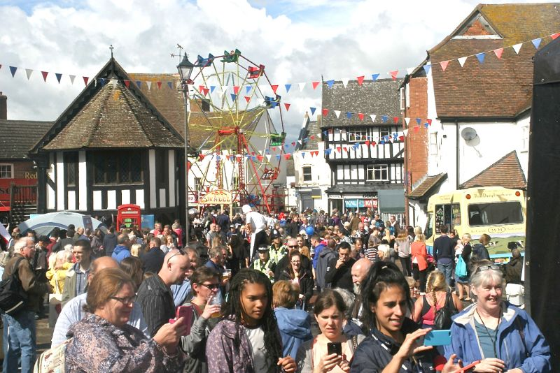 The Fayre is one of the biggest free events in the county
