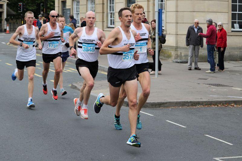 Alex Lee (number 3578) will be running in the Cheltenham Half Marathon on Sunday