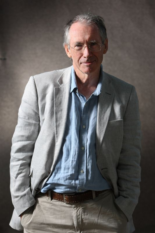 Ian McEwan is one of the festival's headliners