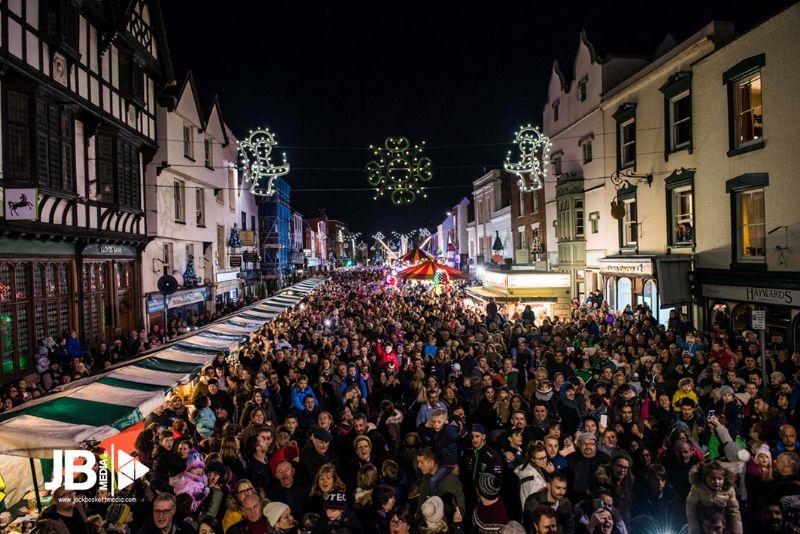Last year's Christmas Light's switch on. Photo, Jack Boskett