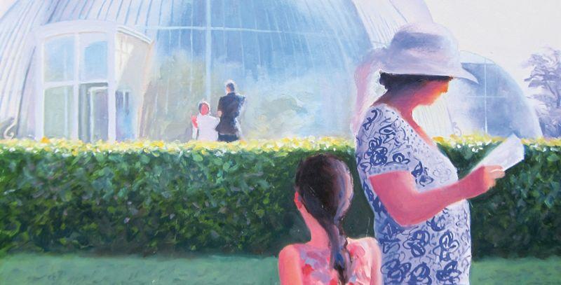 'Something Going on at Kew', Michael Paul, 2019