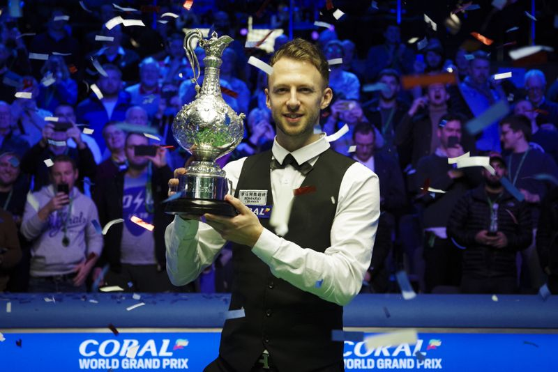 Judd Trump was crowned the winner of this year's Coral World Grand Prix