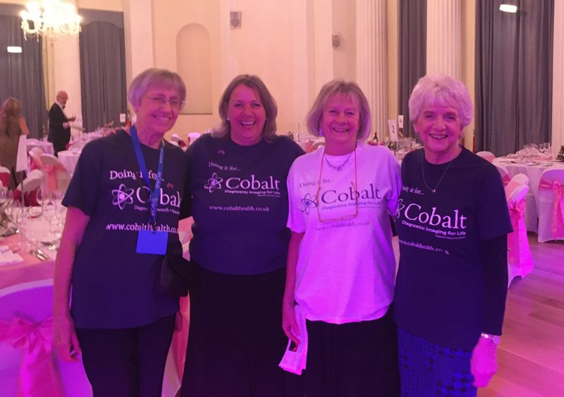 Cobalt volunteers at the ball