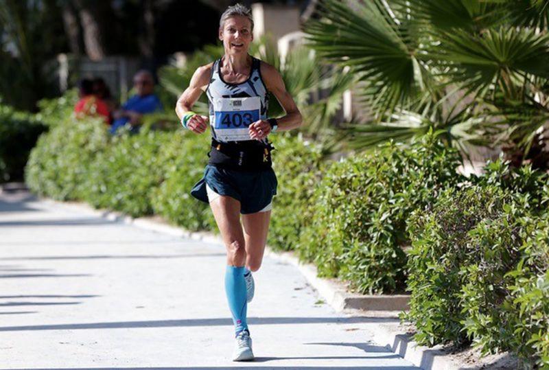 Fiona Carter competing in Mallorca. Picture, Ingo Kutsche