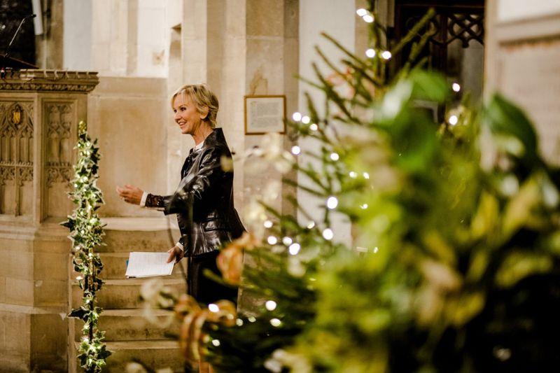 Lisa Maxwell at a previous Christmas celebration