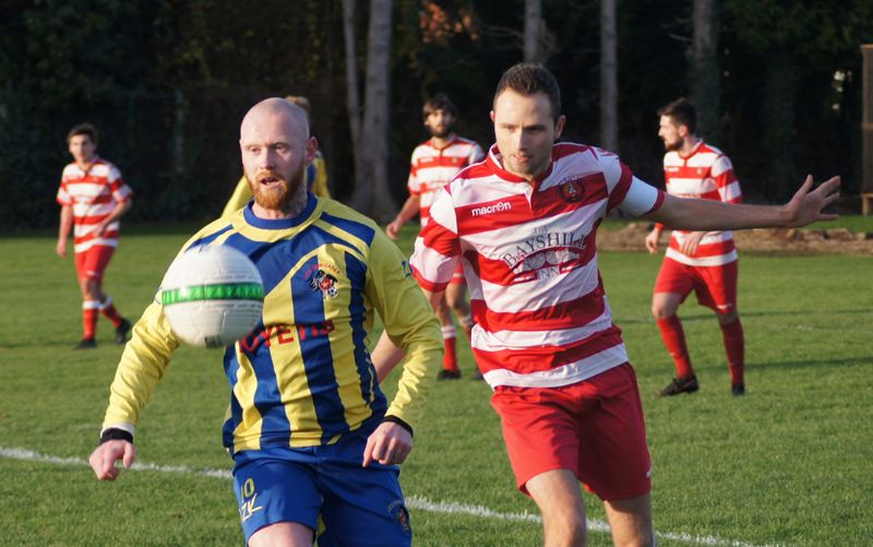 Action from Cheltenham Civil Service Reserves against AFC Renegades