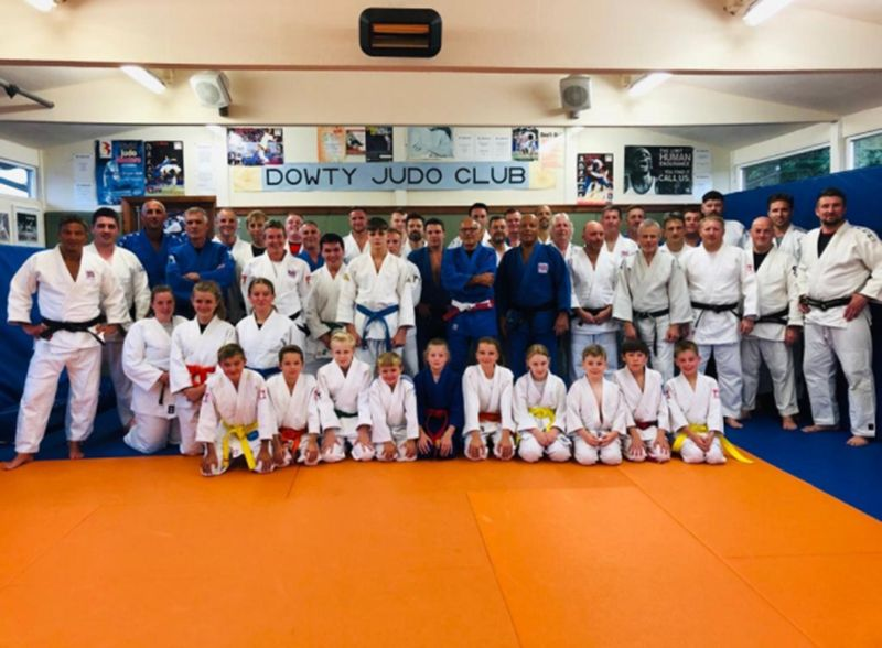 Dowty Judo Club has about 50 members across juniors and seniors