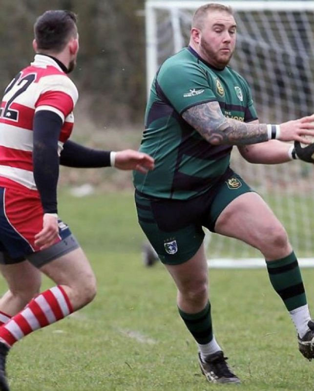Ben Goodey in action against Painswick