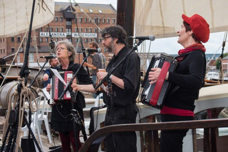Way Out West at the Gloucester Tall Ships Festival. Picture: Tina Dorner