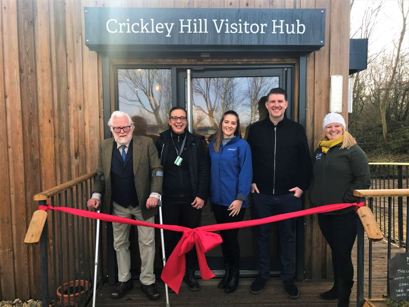 The official opening of The Visitor Hub