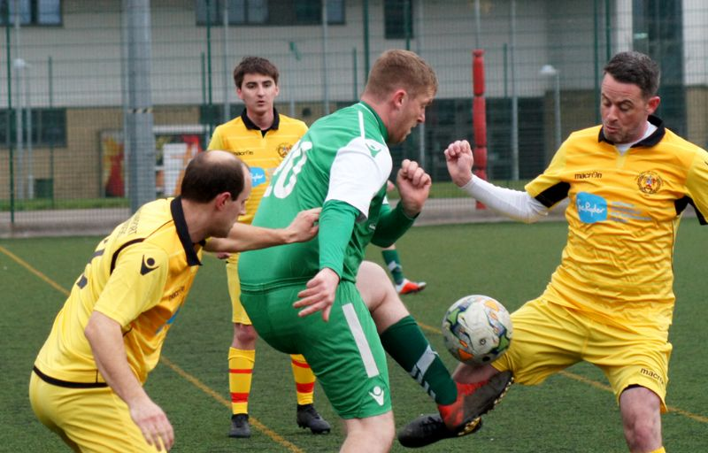 Action from Bishop's Cleeve A against Cheltenham Civil Service Reserves