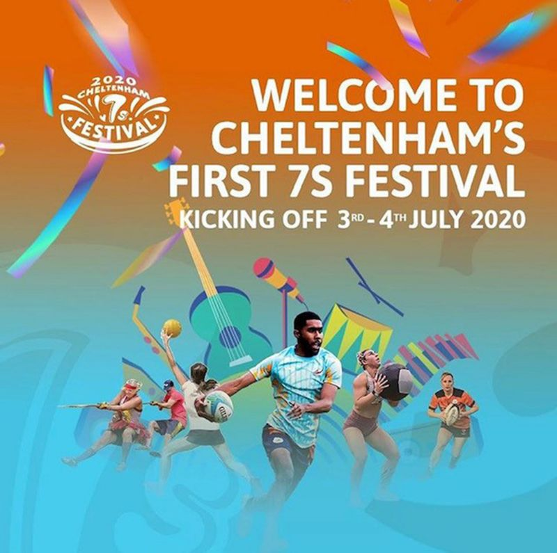 The Cheltenham 7s Festival is planned for 3rd and 4th July