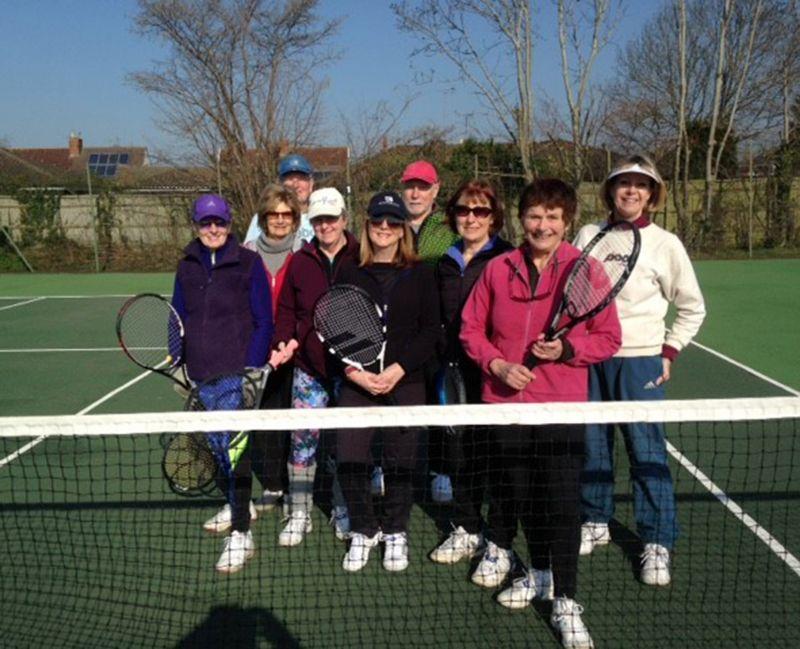 Members of Prestbury Tennis Club