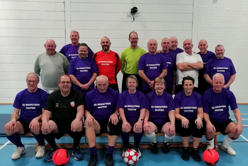 Cam & Dursley Walking Football Club were formed last year