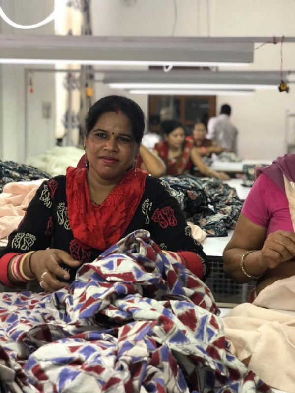 Indian clothing factory