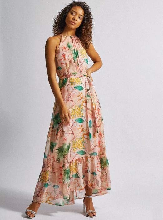 Summer maxi dress Zara